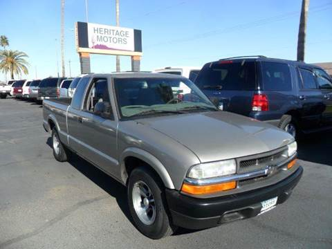 2003 Chevrolet S-10 for sale at Heritage Motors in Casa Grande AZ