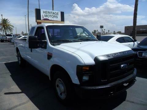 2008 Ford F-250 Super Duty for sale at Heritage Motors in Casa Grande AZ