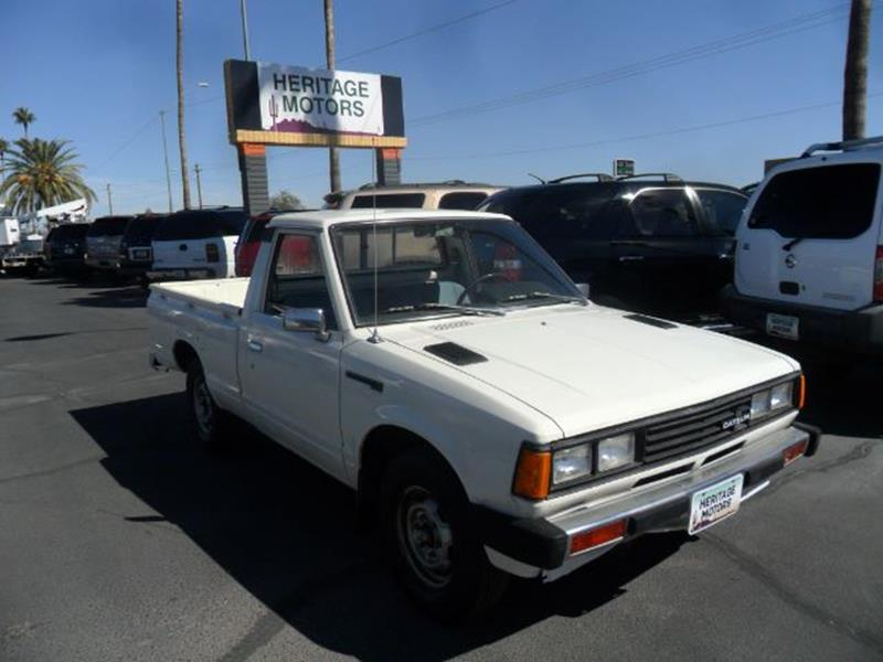 1982 Datsun Pickup for sale at Heritage Motors in Casa Grande AZ