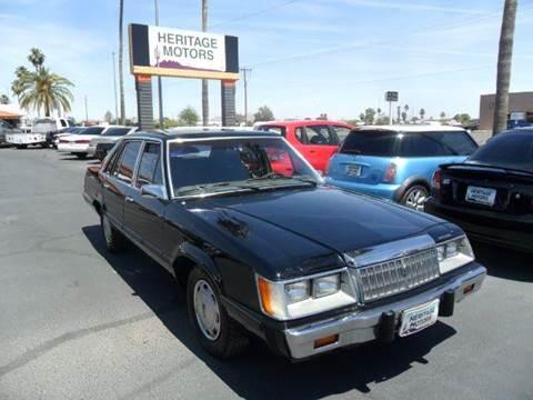 1986 Mercury Marquis for sale at Heritage Motors in Casa Grande AZ