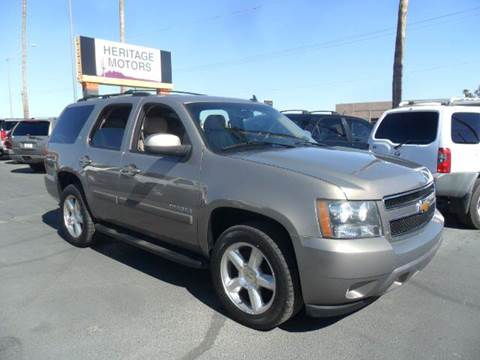 2007 Chevrolet Tahoe for sale at Heritage Motors in Casa Grande AZ