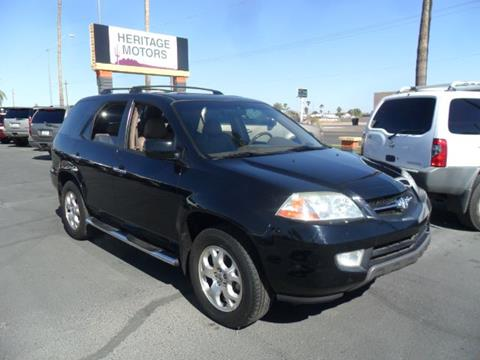 2002 Acura MDX for sale at Heritage Motors in Casa Grande AZ