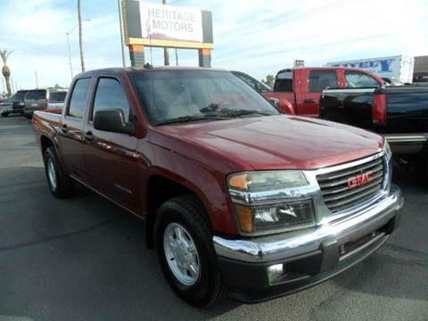 2004 GMC Canyon for sale at Heritage Motors in Casa Grande AZ