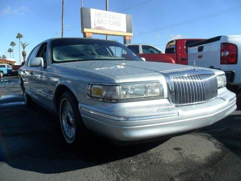 1997 Lincoln Town Car for sale at Heritage Motors in Casa Grande AZ