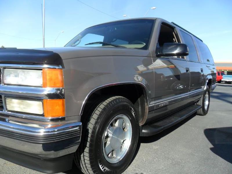 1998 Chevrolet Suburban for sale at Heritage Motors in Casa Grande AZ