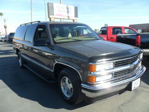 1998 Chevrolet Suburban for sale at Heritage Motors in Casa Grande AZ