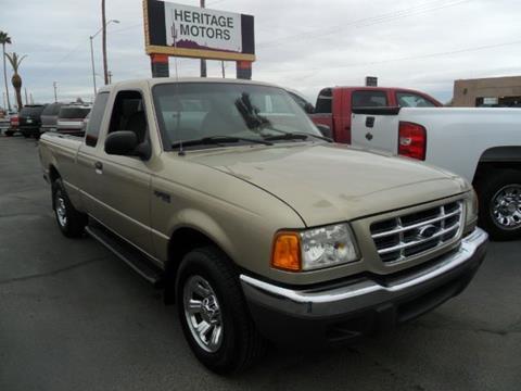 2002 Ford Ranger for sale at Heritage Motors in Casa Grande AZ