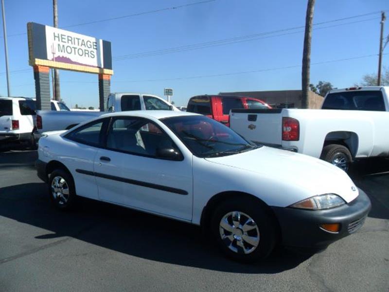 1996 Chevrolet Cavalier for sale at Heritage Motors in Casa Grande AZ