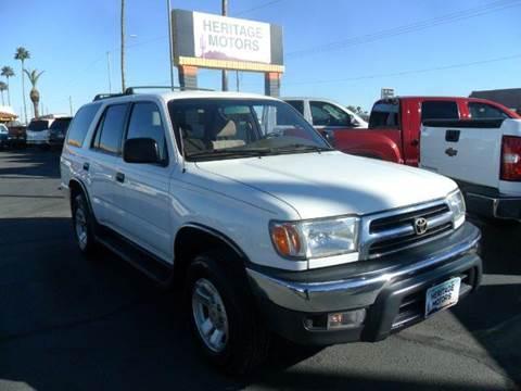 1999 Toyota 4Runner for sale at Heritage Motors in Casa Grande AZ