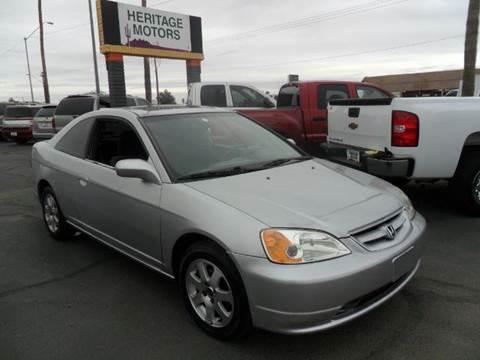 2003 Honda Civic for sale at Heritage Motors in Casa Grande AZ