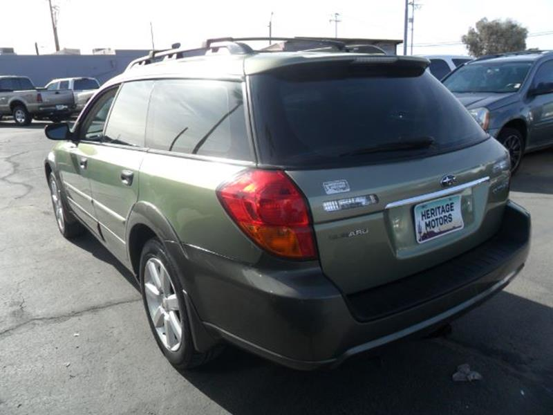 2006 Subaru Outback for sale at Heritage Motors in Casa Grande AZ