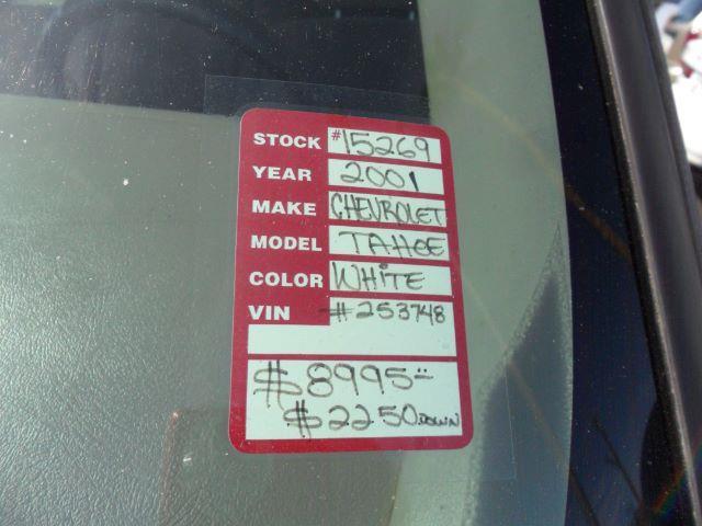 2001 Chevrolet Tahoe for sale at Heritage Motors in Casa Grande AZ