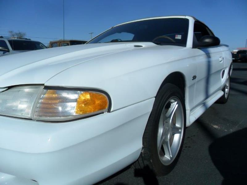 1998 Ford Mustang for sale at Heritage Motors in Casa Grande AZ