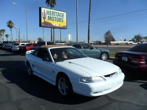 1998 Ford Mustang for sale at Heritage Motors in Casa Grande AZ