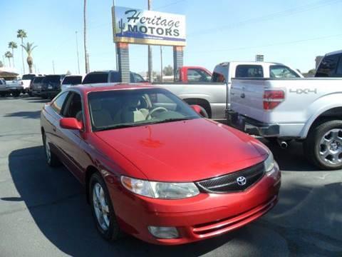2000 Toyota Camry Solara for sale at Heritage Motors in Casa Grande AZ