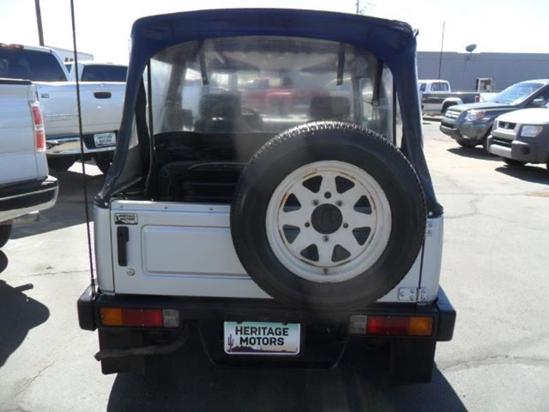 1988 Suzuki Samurai for sale at Heritage Motors in Casa Grande AZ