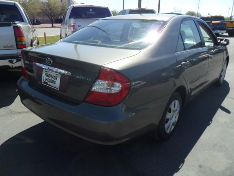 2003 Toyota Camry for sale at Heritage Motors in Casa Grande AZ