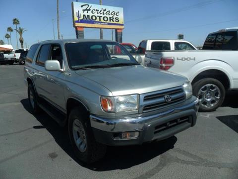 Used 1999 Toyota 4runner For Sale In Arizona
