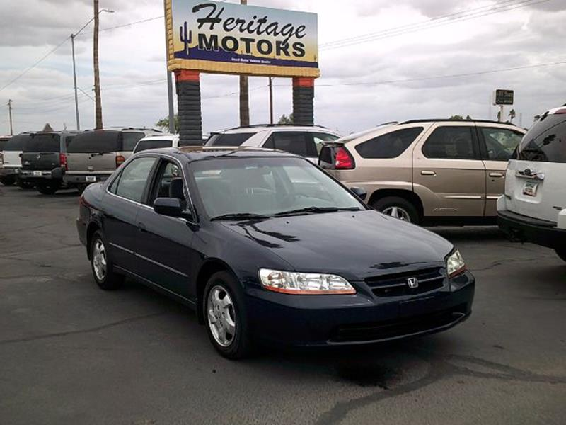 2000 Honda Accord for sale at Heritage Motors in Casa Grande AZ