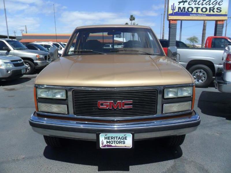 1990 GMC Sierra 3500 for sale at Heritage Motors in Casa Grande AZ