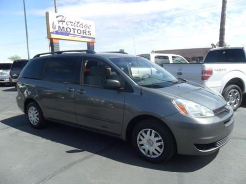 2005 Toyota Sienna for sale at Heritage Motors in Casa Grande AZ