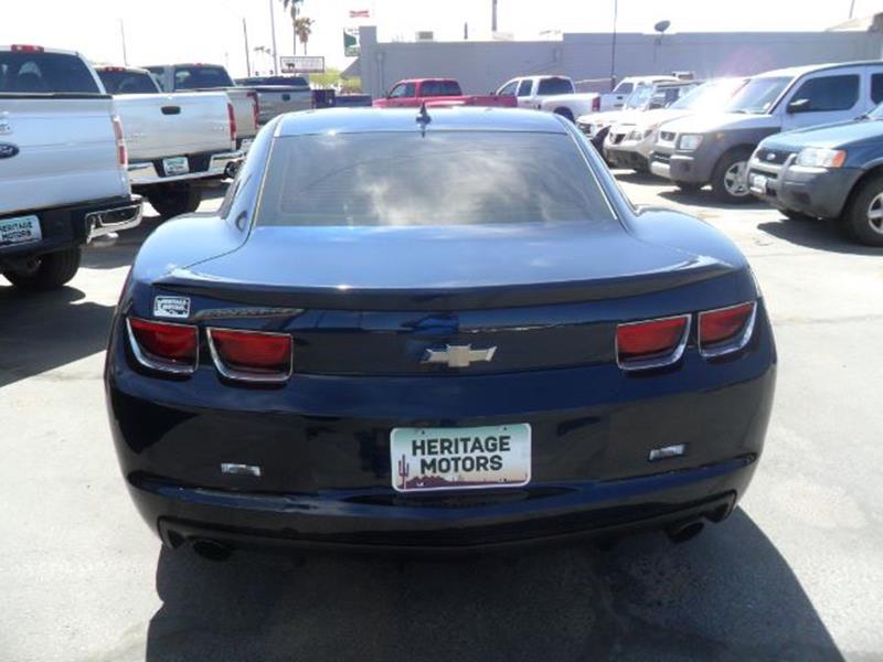 2012 Chevrolet Camaro for sale at Heritage Motors in Casa Grande AZ
