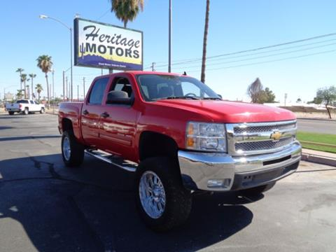 2012 Chevrolet Silverado 1500 for sale at Heritage Motors in Casa Grande AZ