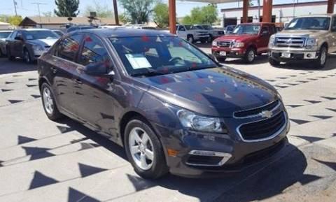 2015 Chevrolet Cruze for sale at Heritage Motors in Casa Grande AZ