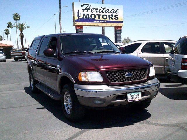 2001 Ford F-150 for sale at Heritage Motors in Casa Grande AZ