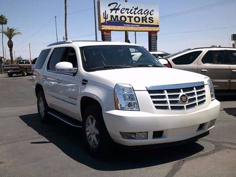 2007 Cadillac Escalade for sale at Heritage Motors in Casa Grande AZ