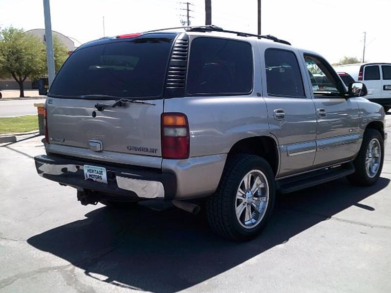 2003 Chevrolet Tahoe for sale at Heritage Motors in Casa Grande AZ