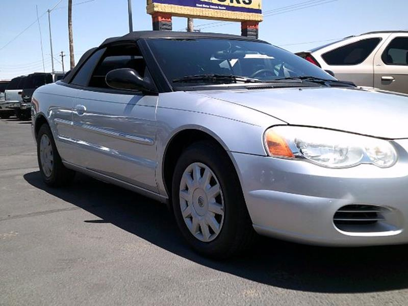 2004 Chrysler Sebring for sale at Heritage Motors in Casa Grande AZ