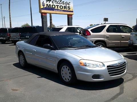 2004 Chrysler Sebring for sale at Heritage Motors in Casa Grande AZ