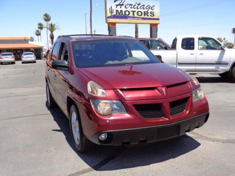 2002 Pontiac Aztek for sale at Heritage Motors in Casa Grande AZ