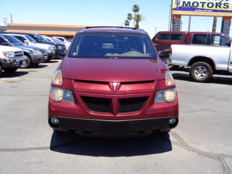 2002 Pontiac Aztek for sale at Heritage Motors in Casa Grande AZ