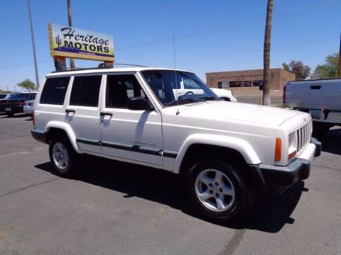 2001 Jeep Cherokee for sale at Heritage Motors in Casa Grande AZ