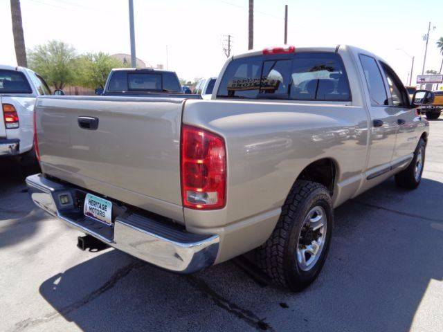 2004 Dodge Ram Pickup 2500 for sale at Heritage Motors in Casa Grande AZ