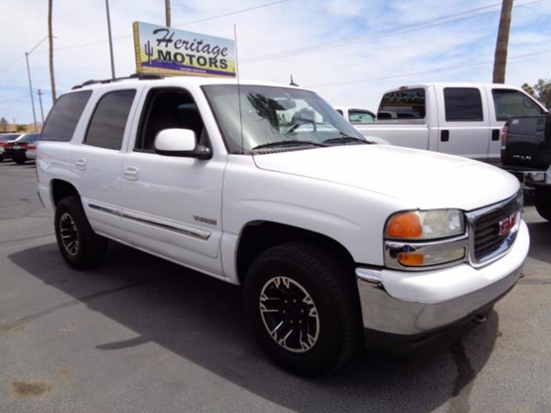 2005 GMC Yukon for sale at Heritage Motors in Casa Grande AZ