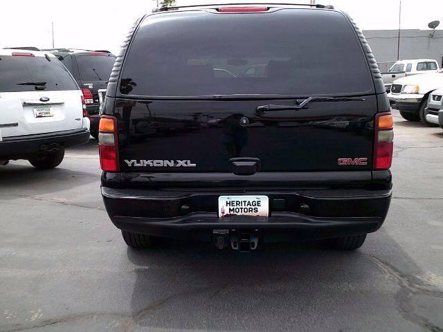 2002 GMC Yukon XL for sale at Heritage Motors in Casa Grande AZ