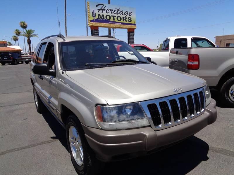 2003 Jeep Grand Cherokee for sale at Heritage Motors in Casa Grande AZ