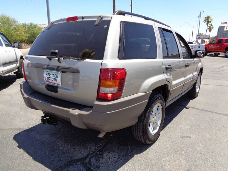 2003 Jeep Grand Cherokee for sale at Heritage Motors in Casa Grande AZ