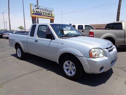 2001 Nissan Frontier for sale at Heritage Motors in Casa Grande AZ