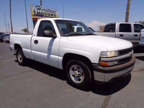 2001 Chevrolet Silverado 1500 for sale at Heritage Motors in Casa Grande AZ