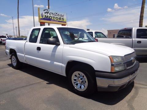2005 Chevrolet Silverado 1500 for sale at Heritage Motors in Casa Grande AZ