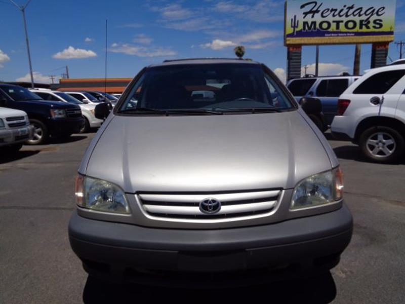 2002 Toyota Sienna for sale at Heritage Motors in Casa Grande AZ