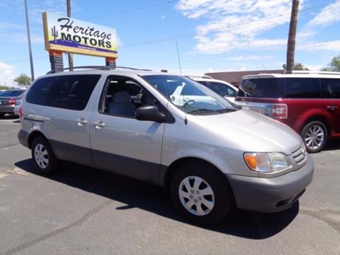 2002 Toyota Sienna for sale at Heritage Motors in Casa Grande AZ