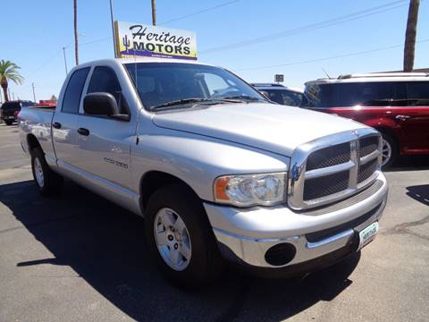 2005 Dodge Ram Pickup 1500 for sale at Heritage Motors in Casa Grande AZ