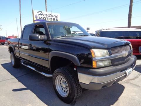 2003 Chevrolet Silverado 1500HD for sale at Heritage Motors in Casa Grande AZ