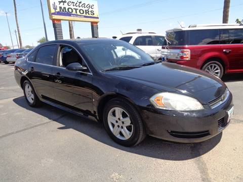 2009 Chevrolet Impala for sale at Heritage Motors in Casa Grande AZ