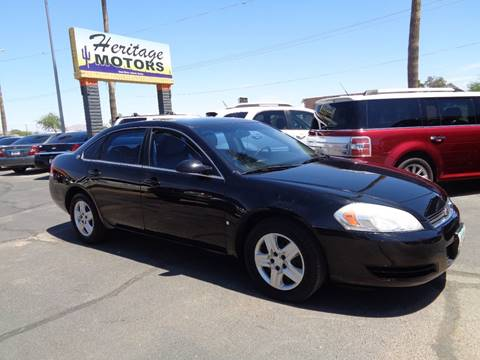 2007 Chevrolet Impala for sale at Heritage Motors in Casa Grande AZ
